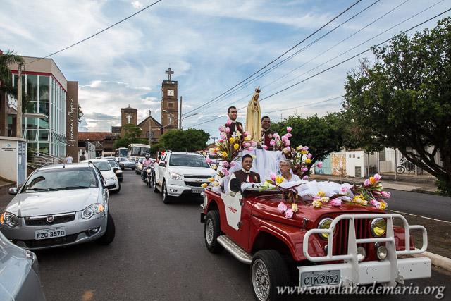 Em Mococa – SP, após 6 anos, a Cavalaria de Maria volta a Paróquia Santa Luzia