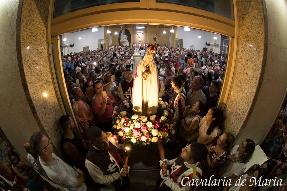 Em Vila Velha - ES, Missões Marianas na Paróquia Nossa Senhora das Graças