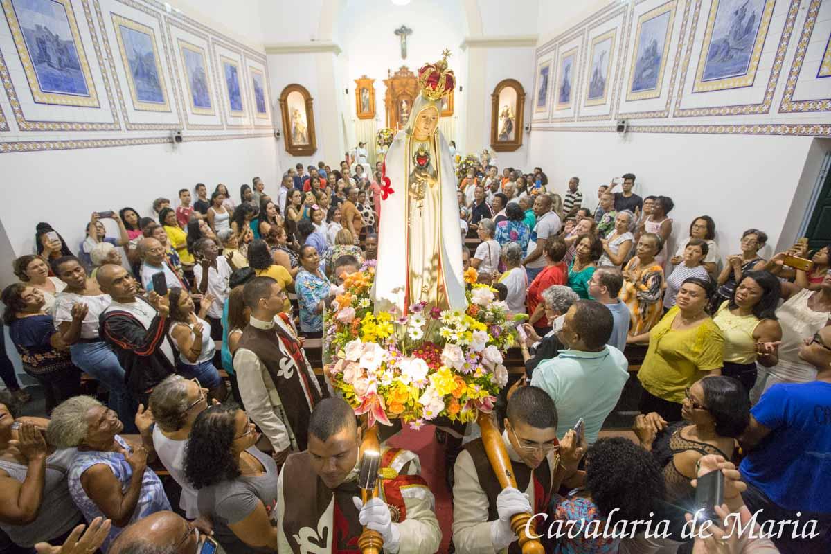 Em Salvador – BA, Missões Marianas na Paróquia Nossa Senhora da Conceição de Itapuã