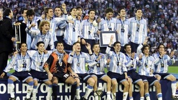 Argentina campeona mundial Sub 20 en Buenos Aires, con Saviola como figura