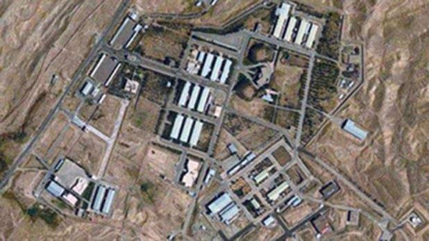 Complejo militar iraní en Parchin, donde se cree que han tenido lugar desarrollos en el programa nuclear persa