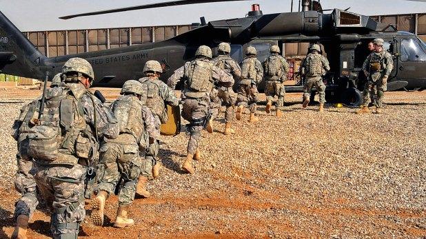 Tropas estadounidenses en irak (Reuters)
