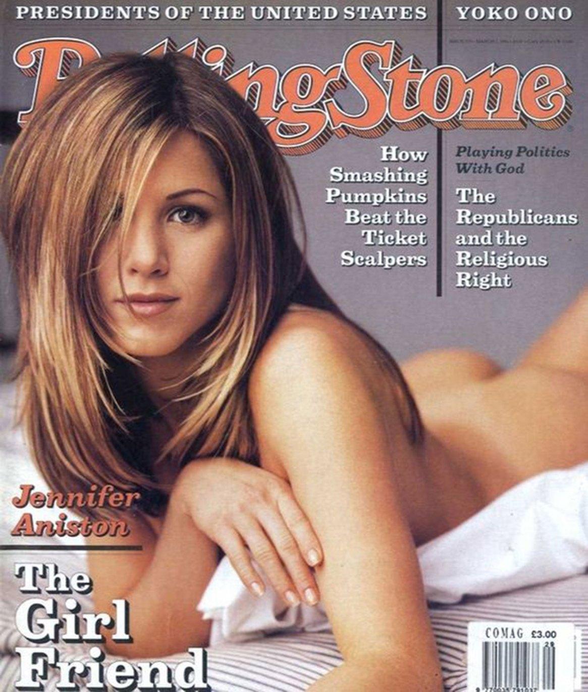 Portada de Jennifer Aniston para la revista Rollin Stone