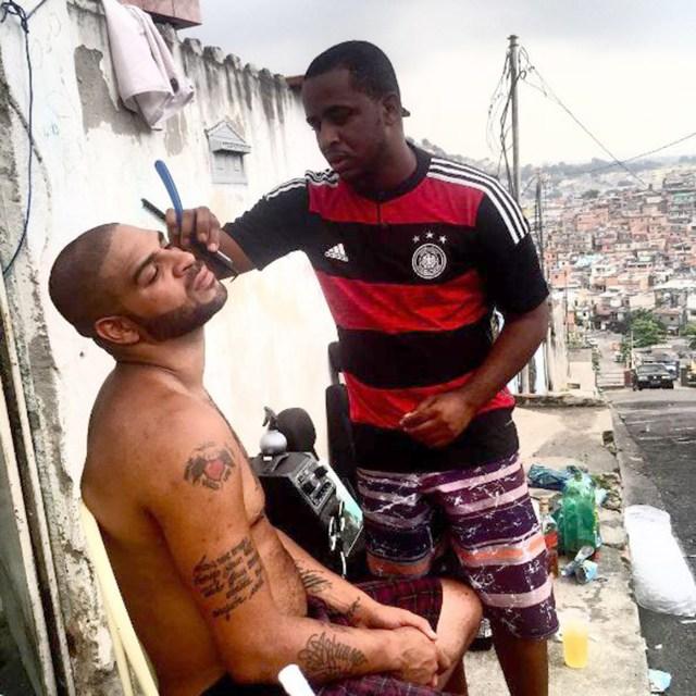 La nueva vida de Adriano: de estrella de la Selección de Brasil a ...