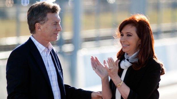 Macri y Cristina, otros tiempos