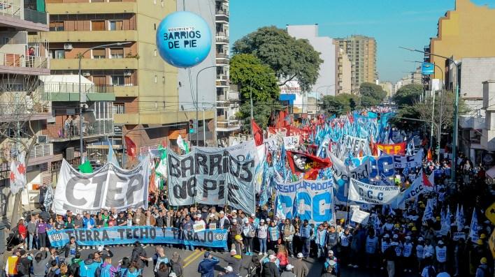 Se espera una jornada caótica en todo el centro porteño (Télam)