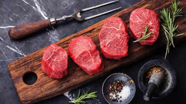 La carneademás se considera proteína buena (Shutterstock)