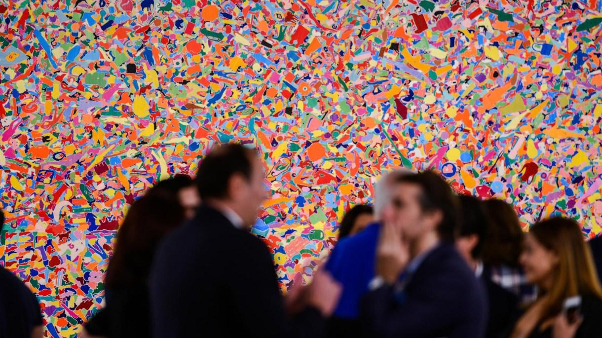 Alrededor de Art Basel Miami Beach, la playa y la ciudad se llenan de exhibiciones. (Art Basel)