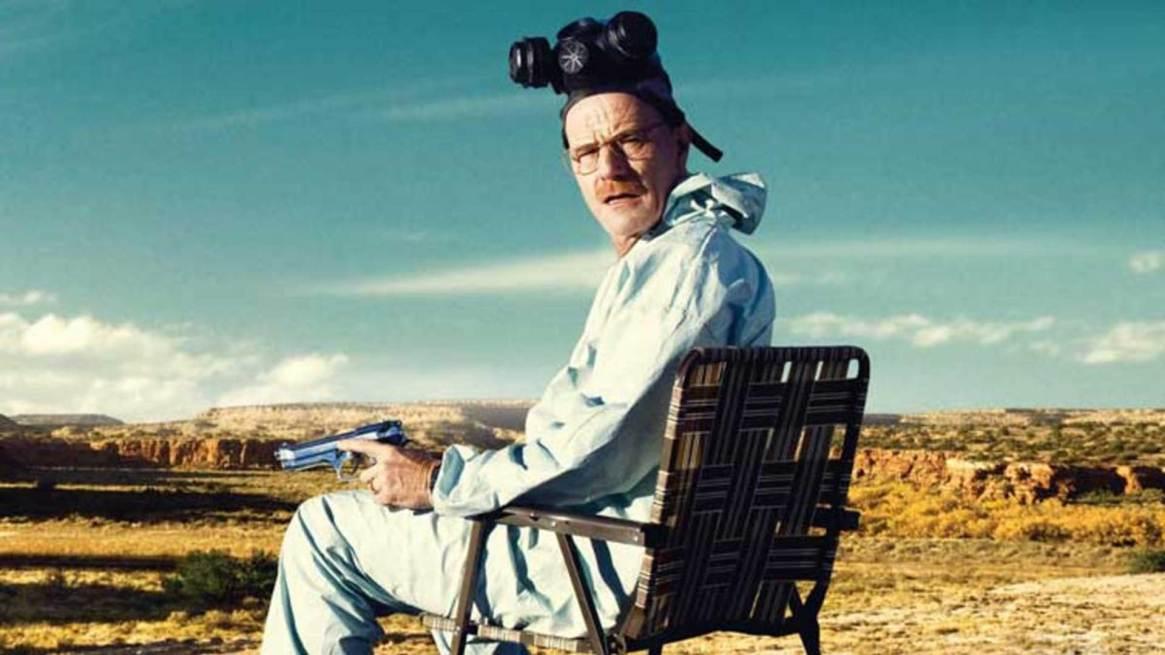 """Brian Cranston en la piel de Walter White de """"Breaking Bad"""""""