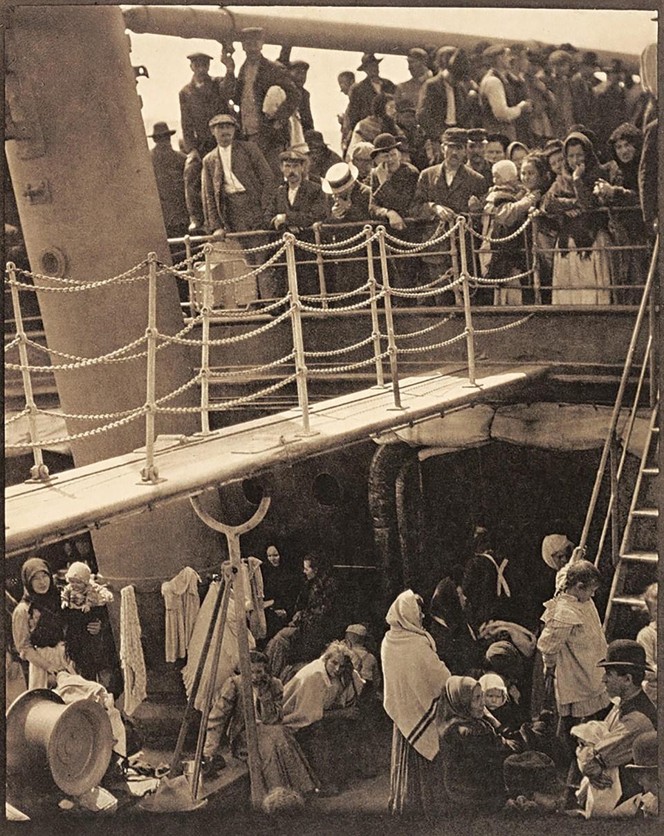 """""""La tercera clases"""" (Alfred Stieglitz, barco camino a Europa, 1907)"""
