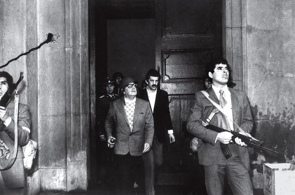 """""""La última parada de Allende"""" (Luis Orlando Lagos, Chile, 1973)"""