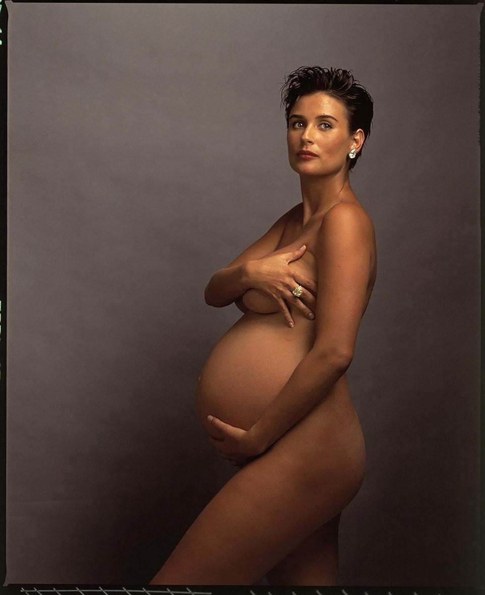 """Demi Moore"" (Annie Leibovitz, 1991)"