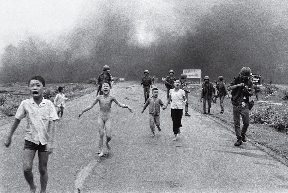 """""""El terror de la guerra"""" (Nick Ut, Vietnam, 1972)"""