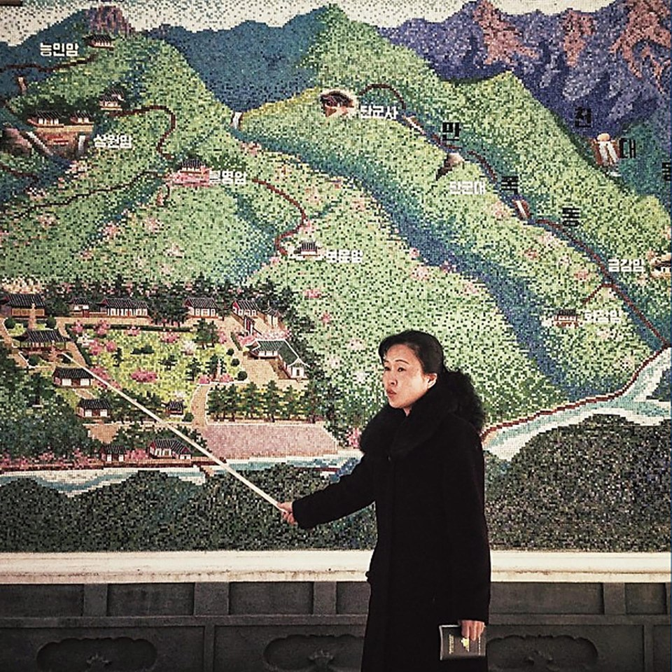 """Corea del Norte"" (David Guttenfelder, 2013)"
