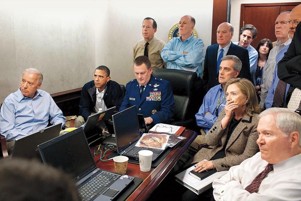 """""""Sala de Situaciones"""" (Pete Souza, Estados Unidos, 2011)"""