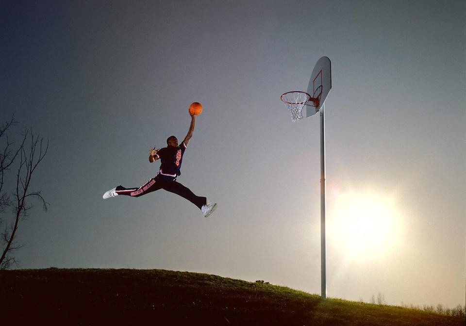 """""""Michael Jordan"""" (Co Rentmeester, Estados Unidos, 1984)"""