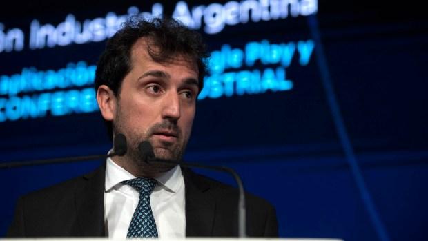 Diego Coatz, economista Jefe de la UIA (Adrián Escandar)