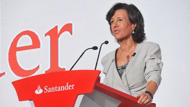 Ana Botín, presidente de Banco Santander (EFE)