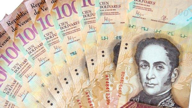Bolívares venezolanos (iStock)