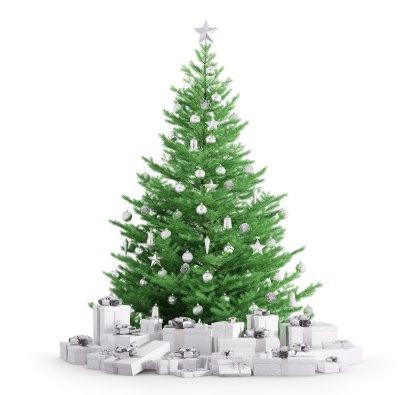 Guirnaldas, figuras navideñas, estrellas, luces de colores son algunos de los adornos que nunca faltan en el arbolito (iStock)