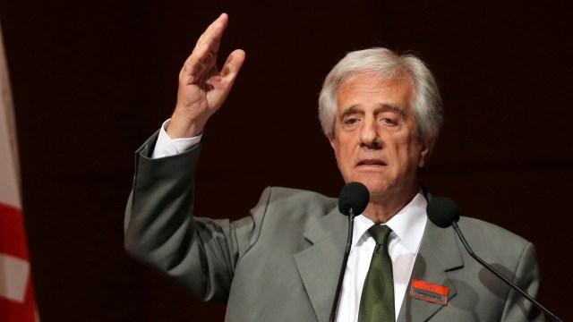 Tabaré Vázquez, presidente de Uruguay (Reuters)