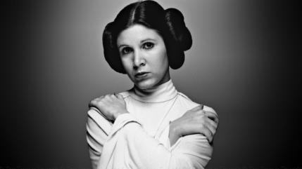 """La princesa Leia de """"Star Wars"""", Carrie Fisher, murió el martes 27 de diciembre en Los Ángeles"""