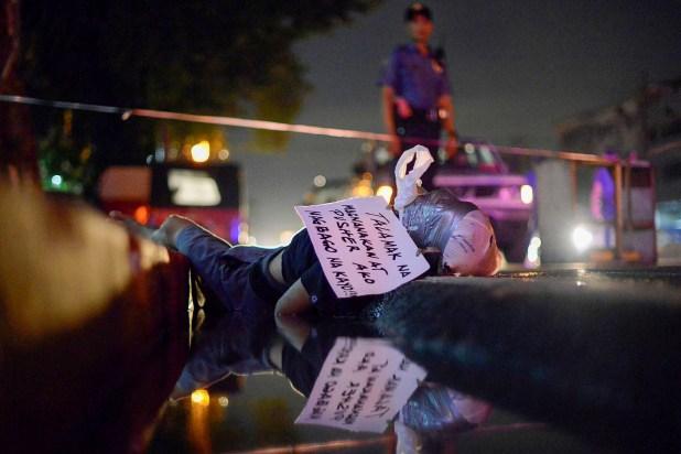 La guerra contra el crimen ha ocasiado miles de ejecuciones extrajudiciales