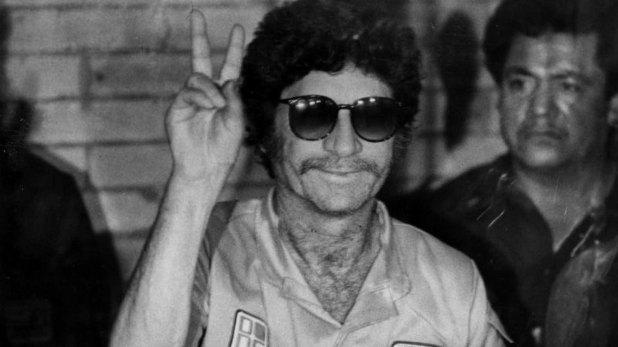 """Ernesto Fonseca, """"Don Neto"""", quien también tuvo un amor con una reina de belleza."""