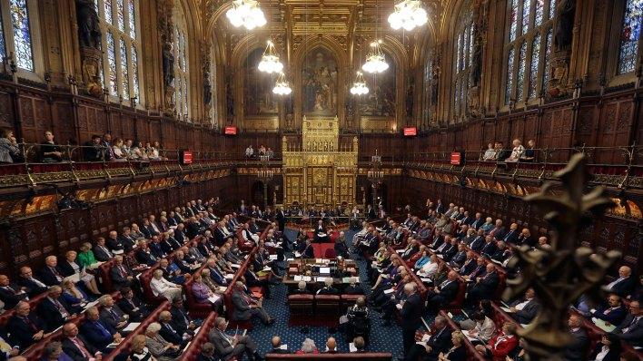 El Parlamento británico (Getty Images)