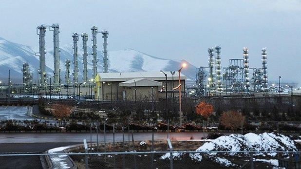 La planta de agua pesada en Arak, parte del complejo nuclear iraní (Archivo)