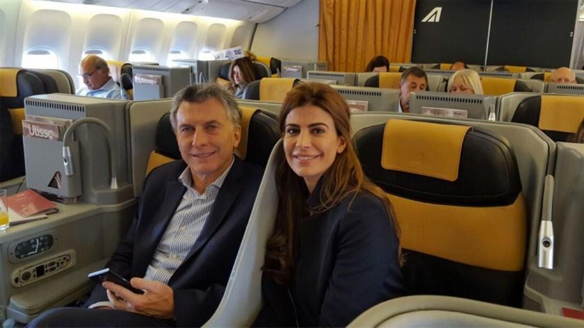 Mauricio Macri viajará en avión de línea