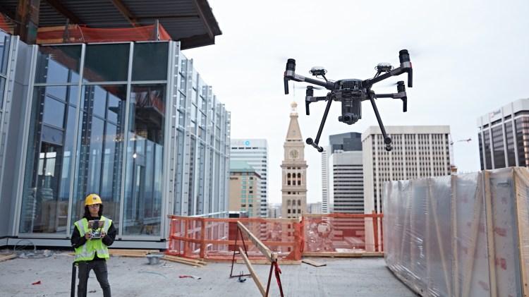 El uso de dronesen diez lugares de los EE.UU. es una prueba piloto paraincorporar esta tecnología.