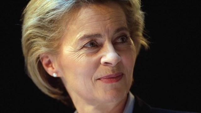 Ursula von der Leyden, ministra de Defensa de Alemania (Getty)