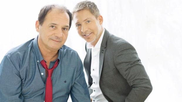 Julio Chávez y Adrián Suar