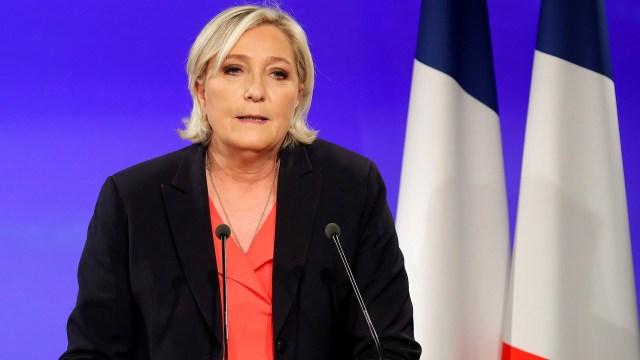 Marine Le Pen, del Frente Nacional francés (REUTERS/Charles Platiau)