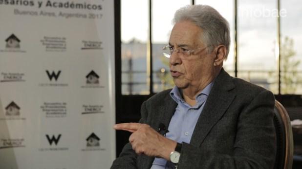 El ex presidente Fernando Henrique Cardoso