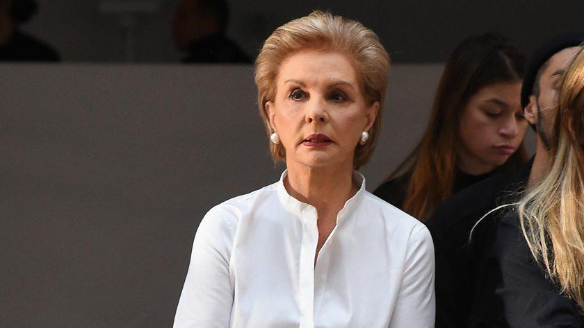Carolina Herrera, la diseñadora que impuso que la camisa blanca sea una prenda que nunca falte (Getty Images)