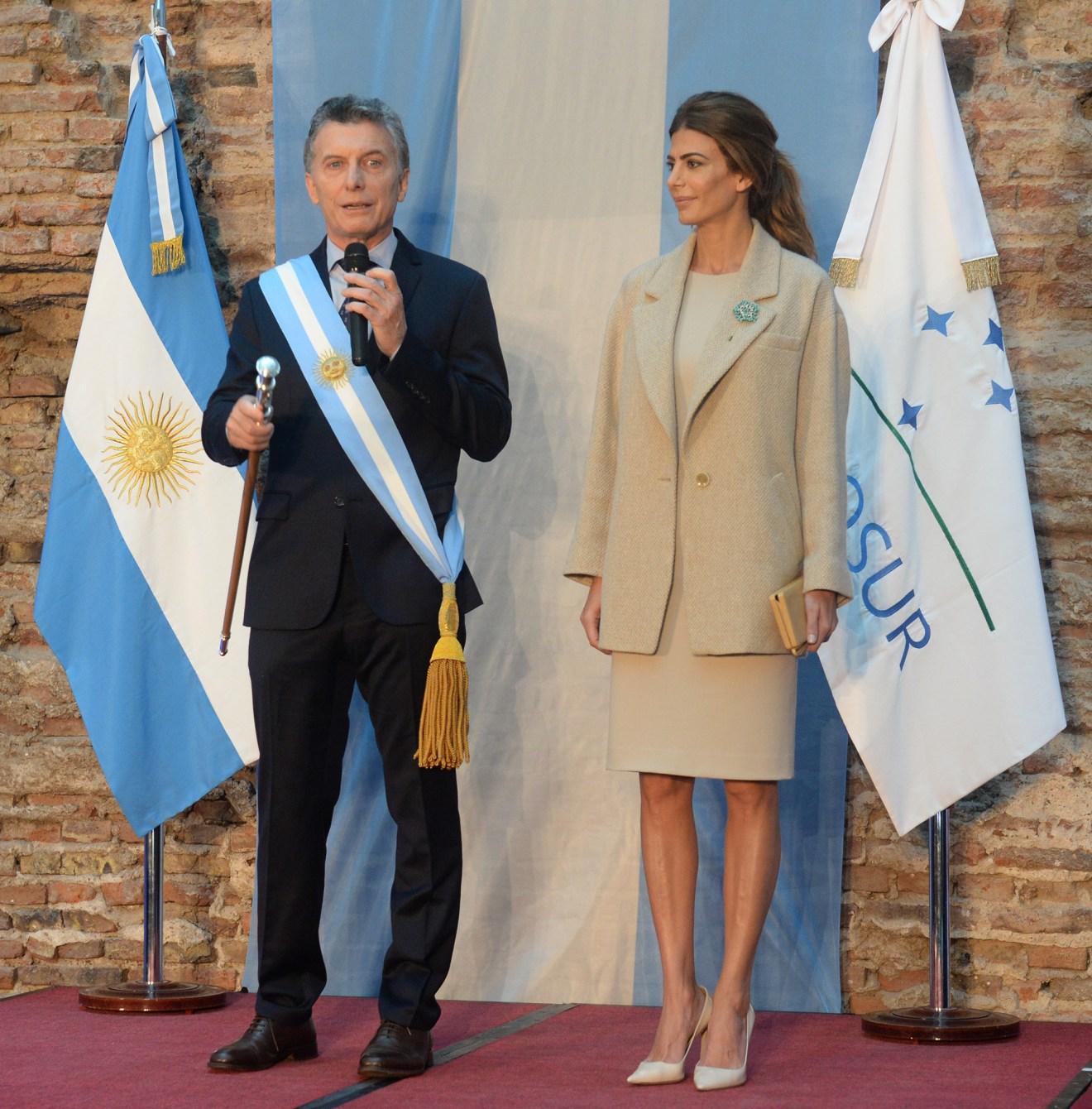El presidente Macri habló en el Museo Casa Rosada