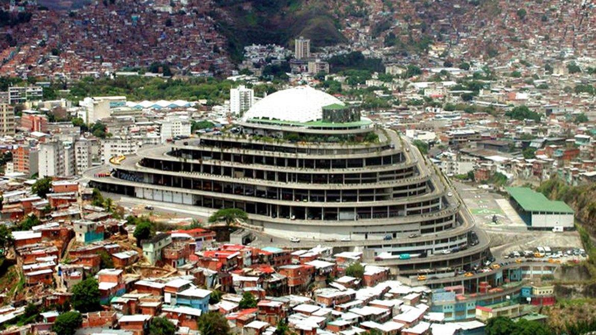 El Helicoide, sede del SEBINen Caracas