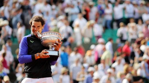 Rafael Nadaljugó su décima final de Roland Garros el año pasado