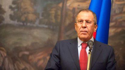 Sergei Lavrov, ministro de Relaciones Exteriores de Rusia