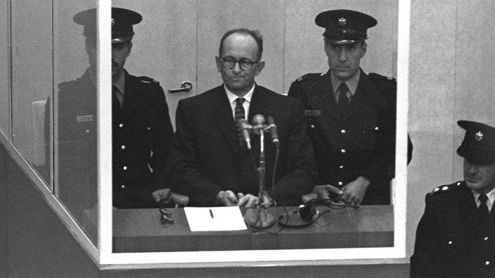 El 15 de diciembre de 1961 fue condenado a morir en la horca por crímenes contra la humanidad (Getty)