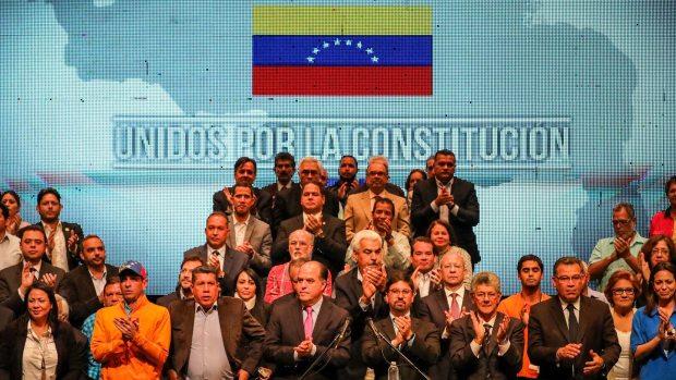 La Mesa de Unidad Democrática (EFE)