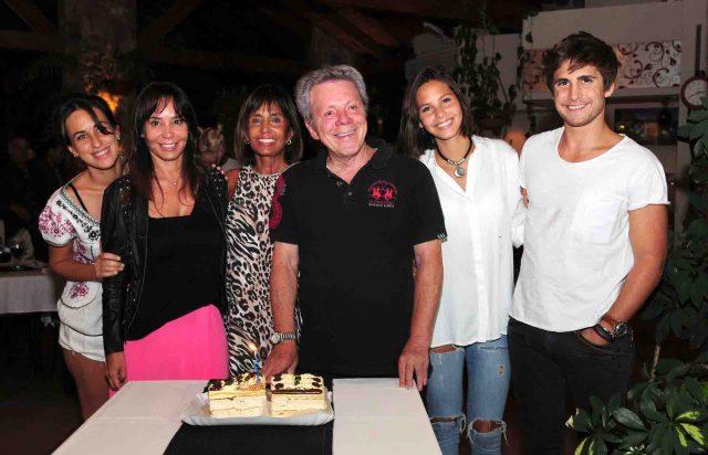 El cumpleaños de Emilio Disi en Villa Carlos Paz