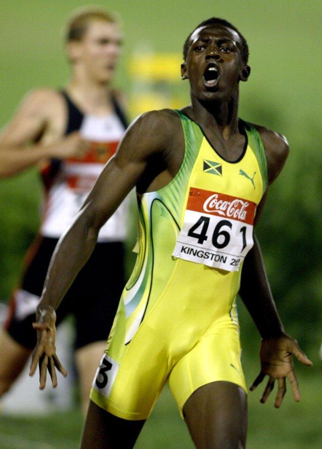 Desde sus inicios en Jamaica, Usain Bolt ya se perfilaba como un corredor capaz de cambiar la historia en las pistas (Getty Images)