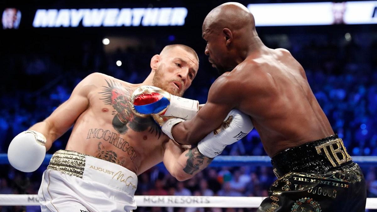 McGregorbuscó en los primeros rounds con más ganas que técnica