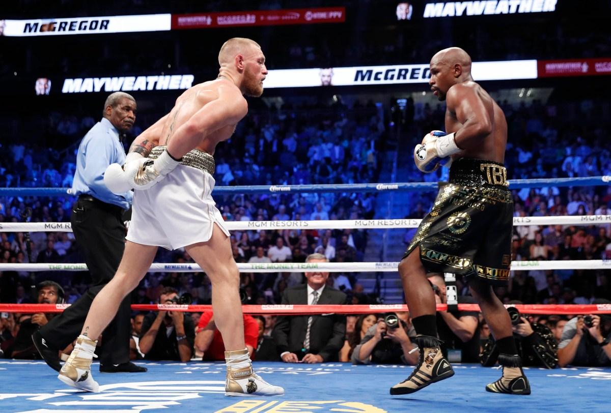 """McGregor baja la guardia e intenta hacer enojar a """"Money"""""""