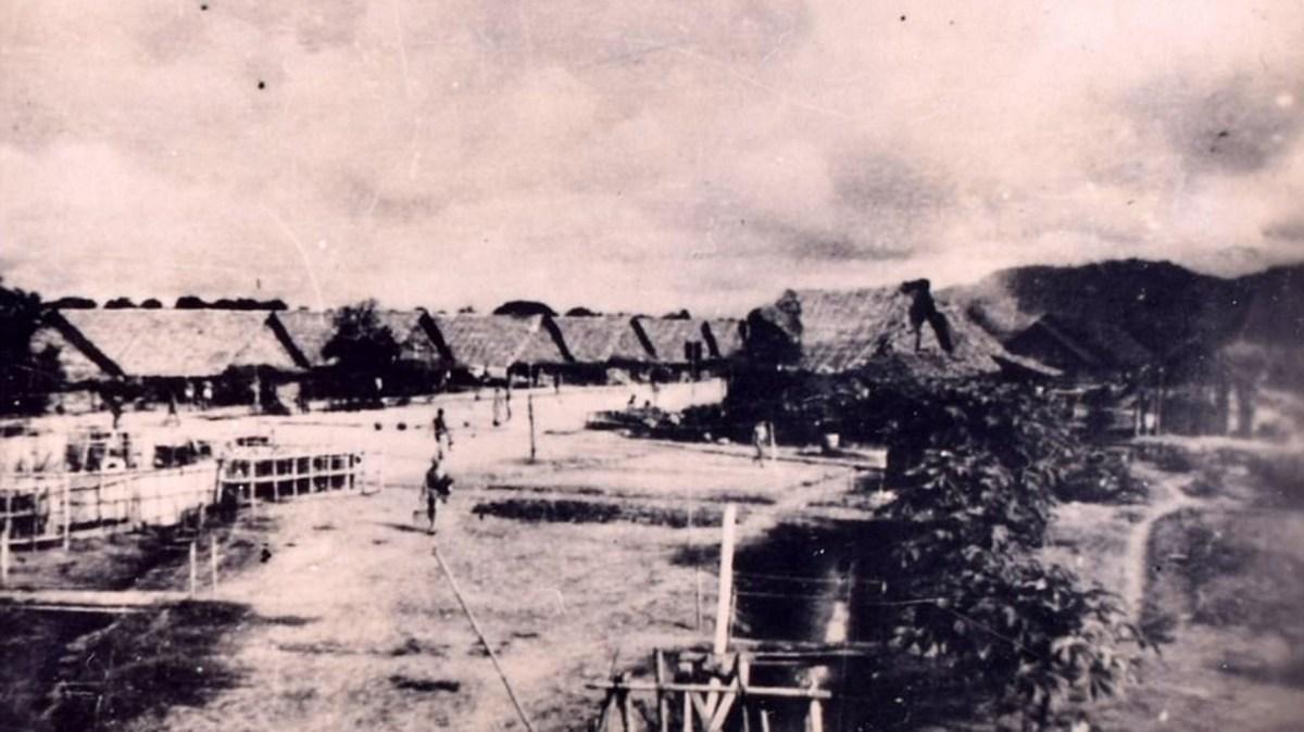 Un campo de concentración japonés