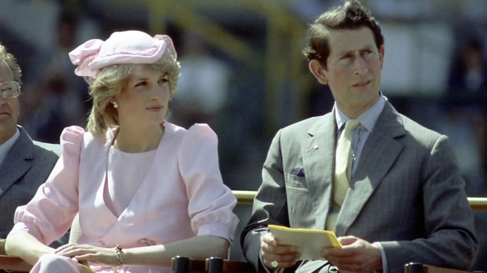 Una imagen de 1983 enAustralia, durante un evento oficial(Patrick Riviere/Getty Images)