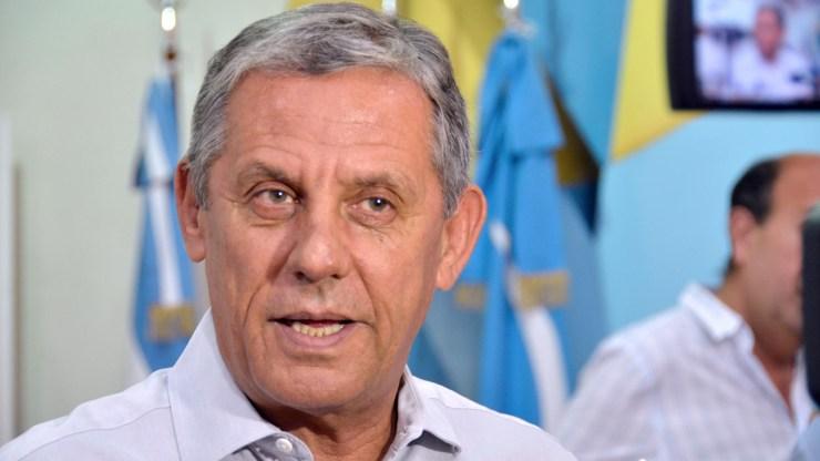 """Horacio """"Pechi"""" Quiroga asegura que él lidera las encuestas con un 24 % de intención de voto."""